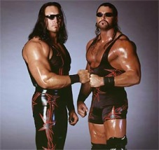 WCW tag team Kronik, with partner Brian Clark
