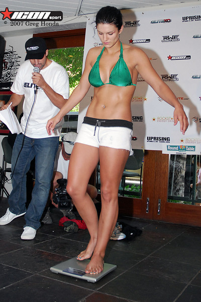 Has gina carano ever been nude